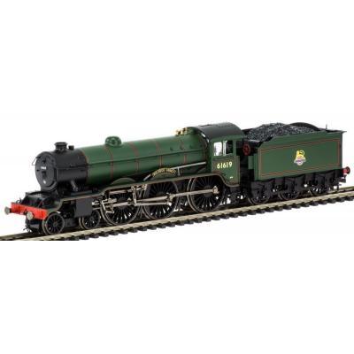 Hornby R3448 Class B17 4-6-0 Steam Loco 61619 - Welbeck Abbey - in BR Green OO Scale