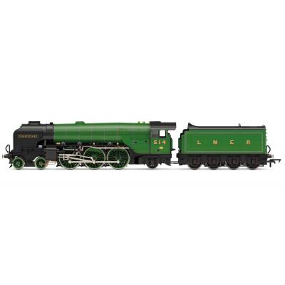 Hornby R3833 LNER Thompson Class A2/3 4-6-2 514 Chamossaire Steam Loco OO Scale