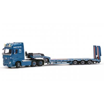 IMC Models 20-1036 Sarens Mercedes Actros2 6x4 with EuroFlex 3axle Trailer 1:50  - Scale 1:50