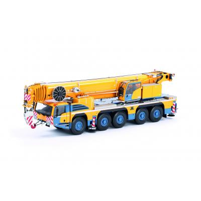 IMC Models 31-0084 Demag AC 250-5 All Terrain Mobile Crane Demag Colors - Scale 1:50
