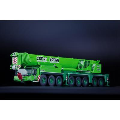 IMC Models 32-0075  - SOP&G Liebherr LTM 1450-8.1 Mobile Crane - Russia - Scale 1:87