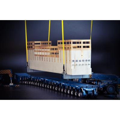 IMC Models 33-0147 Bridge Section Load with Lifting Frame - Scale 1:50