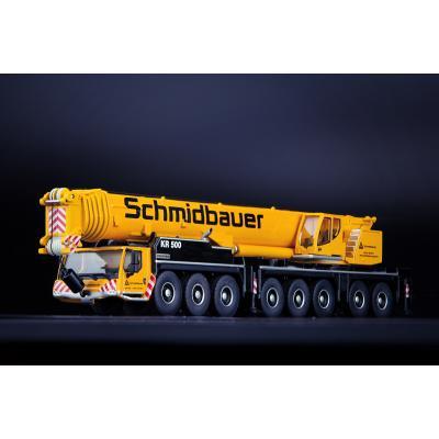 IMC Models 33-0153 - Schmidtbauer Liebherr LTM 1450-8.1 Mobile Crane - Scale 1:87