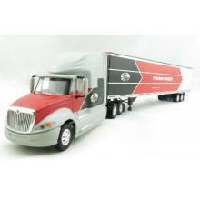 Tonkin Replicas 12-0129 - International Prostar Sleeper Cab 6x4 Truck 53 ft  Box Trailer - Gates - Scale 1:53