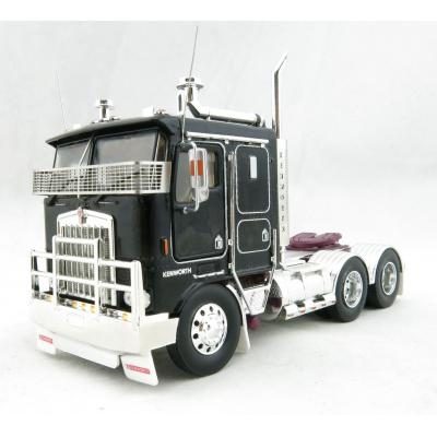 Iconic Replicas - Kenworth K100G 6x4 Prime Mover Black - Scale 1:50
