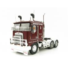 Iconic Replicas - Kenworth K100G 6x4 Prime Mover Burgundy - Scale 1:50