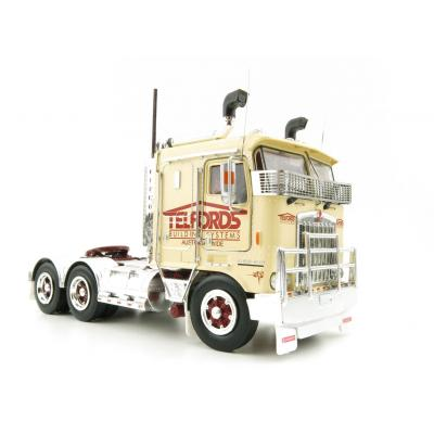 Iconic Replicas - Kenworth K100G 6x4 Prime Mover Telfords - Scale 1:50