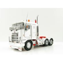 Iconic Replicas - Kenworth K100G 6x4 Prime Mover White with Chrome Wheels - Scale 1:50