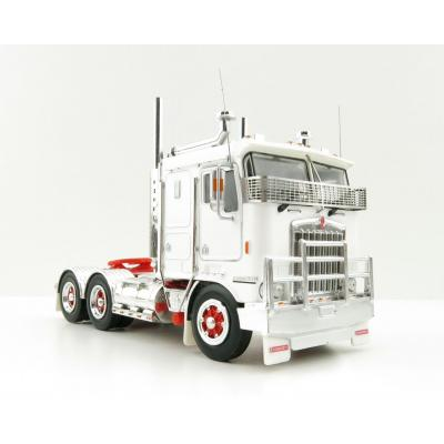 Iconic Replicas - Kenworth K100G 6x4 Prime Mover White with Spider Wheels - Scale 1:50