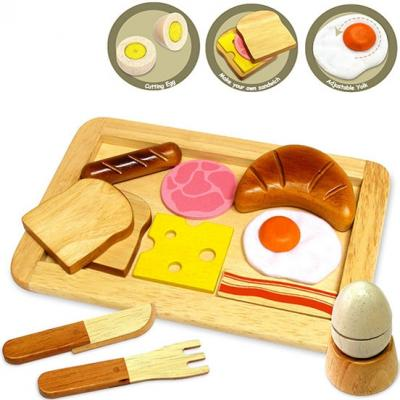 Im Toy 97140 - Wooden Breakfast Set