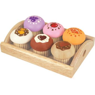 Im Toy 97530 - Wooden Muffin Set