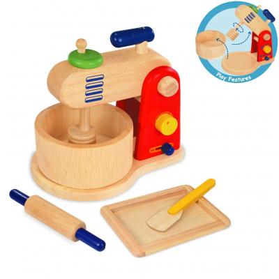 Im Toy 97960 - Wooden Food Mixer And Baking Set