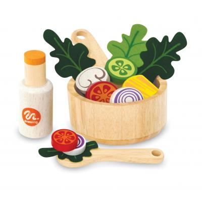 Im Toy 98060 - Wooden Salat Set