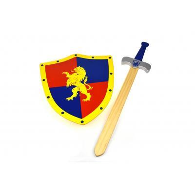 Kaper Kids - Wooden Sword and Shield King Lion Heart