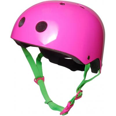 Kiddimoto - Helmet Neon Pink Medium