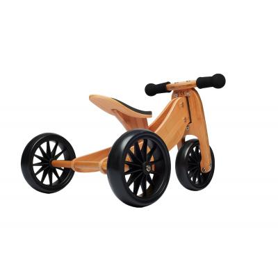 Kinderfeets - Tiny Tot Bamboo Trike 2 in 1 Balance Bike