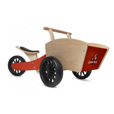 Kinderfeets - Tiny Tot Cargo Trike - Racing Red
