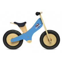 Kinderfeets - Wooden Balance Bike - Blue