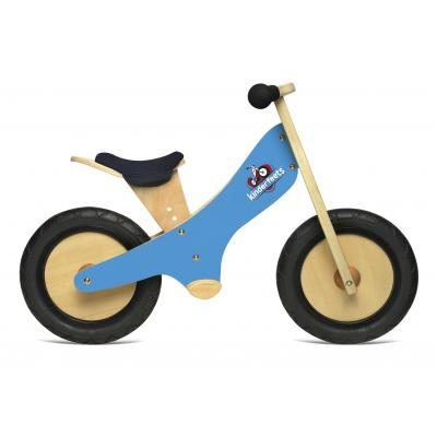 Kinderfeets - Wooden Balance Bike - Blue