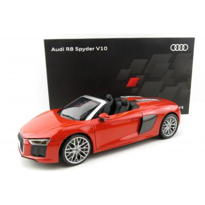 iScale 5011618552 - Audi R8 Spyder V10 Dynamite Red - Scale 1:18