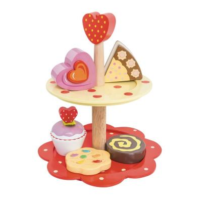 Le Toy Van LTV02  - Two Tier Cake Stand Set Wooden
