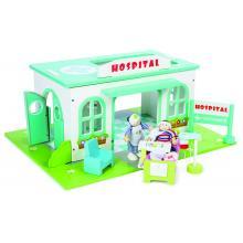 Le Toy Van TV463 - Village Hospital Set Wooden