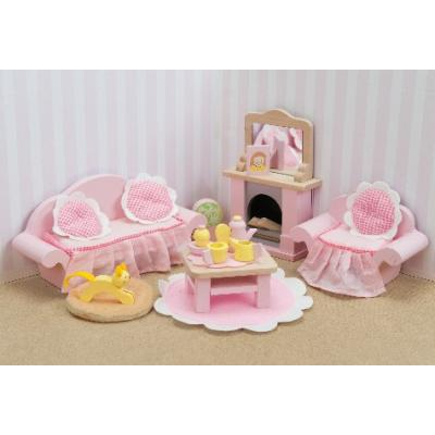 Le Toy Van ME058 - Daisylane Wooden Sitting Room Furniture