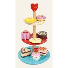 Le Toy Van Wooden  Cake Stand Set