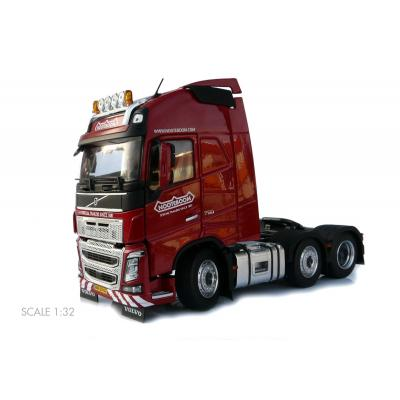 Marge Models 1811-03-01 - Volvo FH16 6x2 Truck Prime Mover Red Nooteboom - Scale 1:32