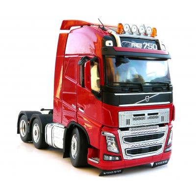 Marge Models 1811-03 - Volvo FH16 6x2 Truck Prime Mover Red - Scale 1:32