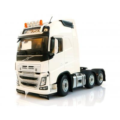 Marge Models 1811-06 - Volvo FH16 6x2 Truck Prime Mover White - Scale 1:32