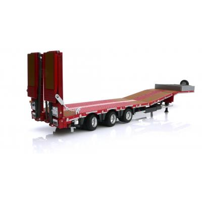Marge Models 1812-01 - Nooteboom MCOS 48-03 Red Low Loader Trailer with Wood Panels - Scale 1:32