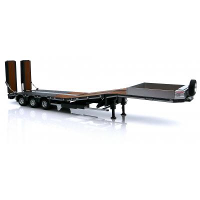Marge Models 1812-02 - Nooteboom MCOS 48-03 Anthracite Low Loader Trailer with Wood Panels - Scale 1:32