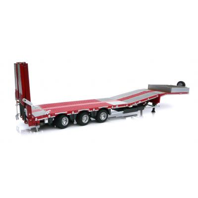 Marge Models 1813-01 - Nooteboom MCOS 48-03 Red Trailer with Metal Grid - Scale 1:32