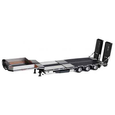 Marge Models 1813-02 - Nooteboom MCOS 48-03 Anthracite Low Loader Trailer with Metal Grid - Scale 1:32