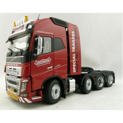 Marge Models 1915-02-01 - Volvo FH16 8x4 Red Truck Prime Mover Nooteboom - Scale 1:32