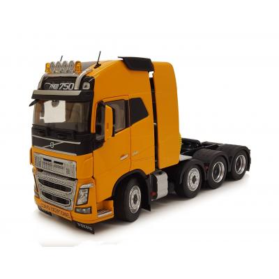 Marge Models 1915-03 - Volvo FH16 8x4 Truck Prime Mover Yellow - Scale 1:32