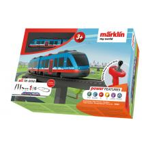 Märklin 29307 - Airport Express Elevated Railroad Train Set Rechargable Battery My World