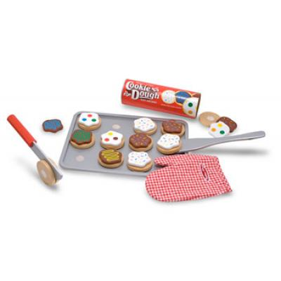 Melissa & Doug 4074 - Wooden Slice And Bake Cookie Set