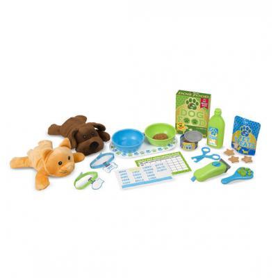 Melissa & Doug - Feeding & Grooming Pet Care Play Set
