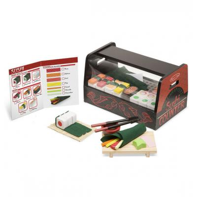 Melissa & Doug - Wrap & Slice Sushi Counter