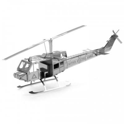 Metal Earth 3D Laser Cut Model Construction Model - UH-1 Huey Helicopter