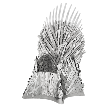 Metal Earth 3D ICONX Laser Cut DIY Model KIT - Iron Throne - Game of Thrones
