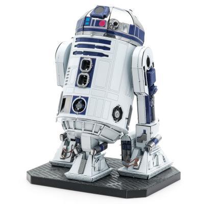 Metal Earth 3D ICONX Laser Cut DIY Model KIT - R2-D2 Droid Premium Series - Star Wars