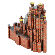 Metal Earth 3D ICONX Laser Cut DIY Model KIT - Red Keep Castle - Game of Thrones
