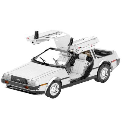 Metal Earth 3D Laser Cut Model Construction Kit DeLorean Back To The Future
