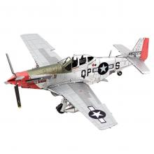 Metal Earth 3D Laser Cut Model Construction Kit P-51D Mustang Sweet Arlene Fighter plane WWII