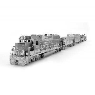 Metal Earth 3D Laser Cut Model Freight Train Box Set Gift Set DIY MODEL KIT