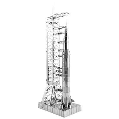 Metal Earth 3D Laser Cut Steel Kit Model NASA Apollo Saturn V with Gantry