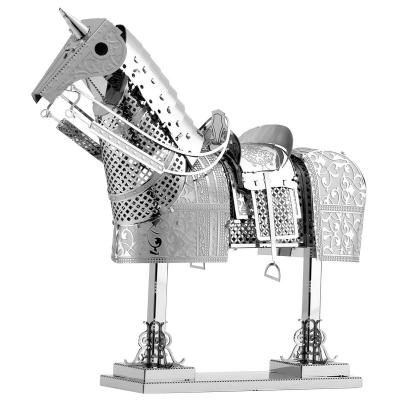 Metal Earth 3D Laser Cut Model Construction Kit Armor Series Medieval Horse Armor
